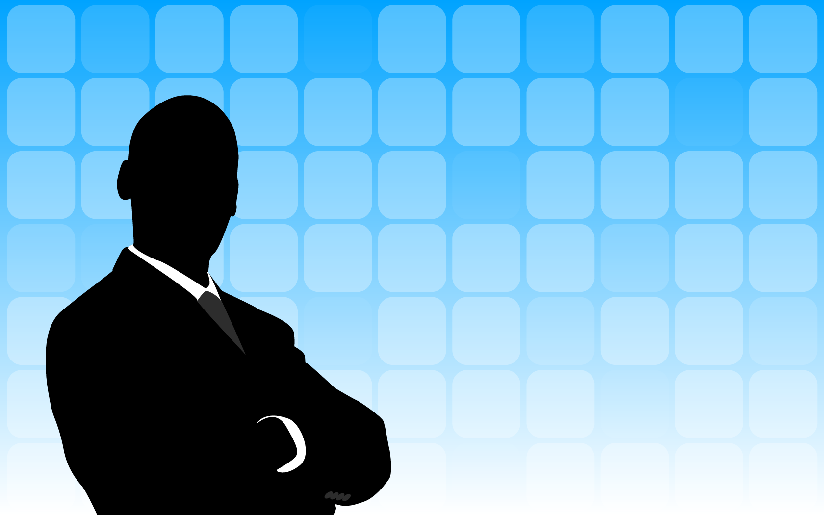 businessman silhouette background
