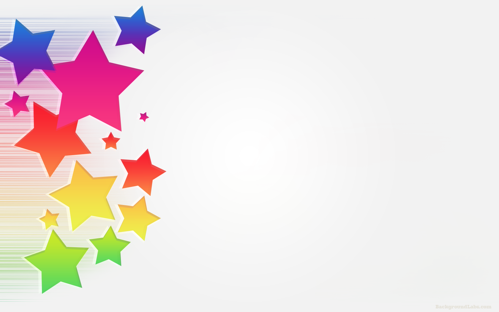 Colorful Stars Background - Background Labs