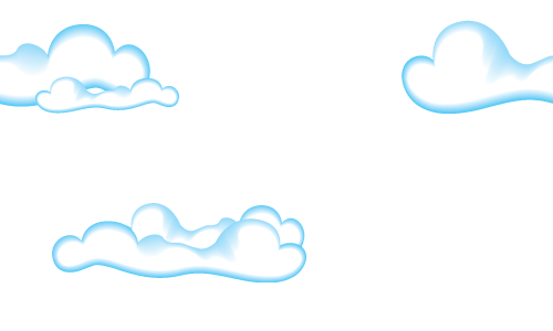 cute clouds seamless pattern background labs