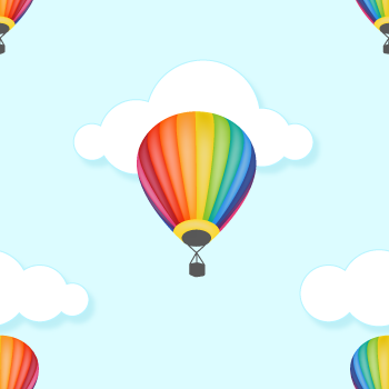 Hot Air Balloon Background - Background Labs