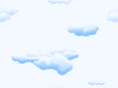 Puffy Clouds Pattern - Background Labs