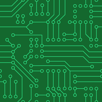 Seamless Pattern Of Circuit Board - Background Labs