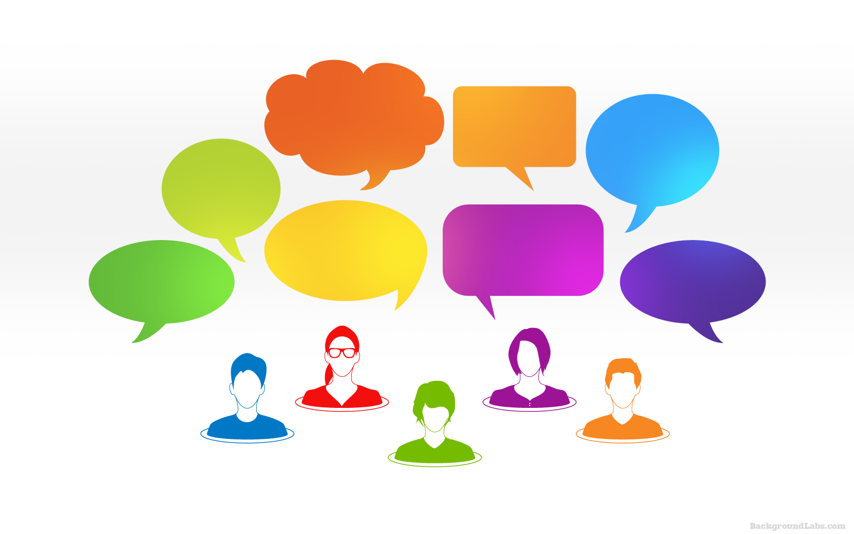 speech bubbles background background labs
