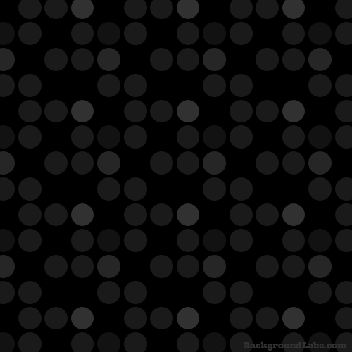 Black Polka Dots Background Labs