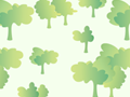 Cute Forest Pattern