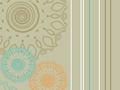 Floral Stripes Pattern