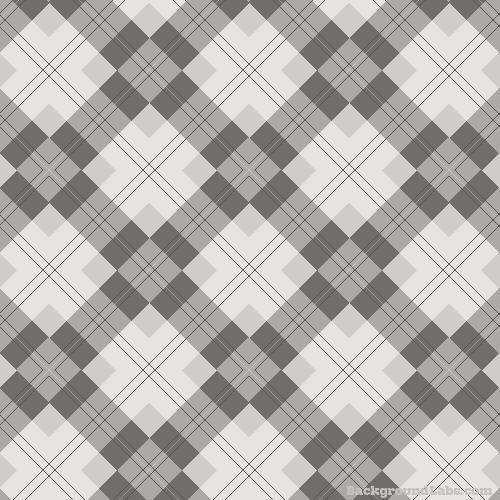 Grey Tartan Pattern