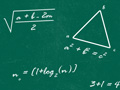 Math Background Pattern