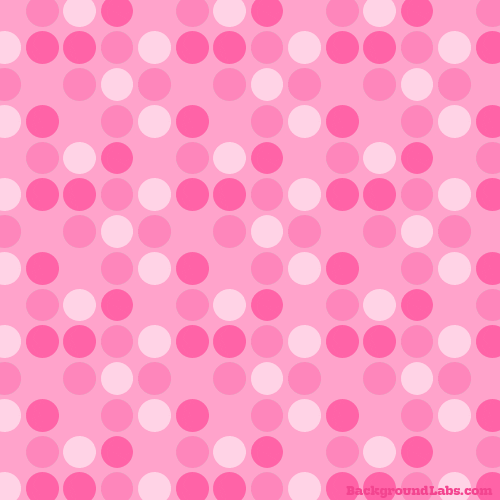 Pink Polka Dots Background Labs