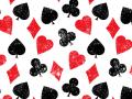 Playing Cards Symbols Pattern