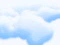 Puffy Clouds Pattern