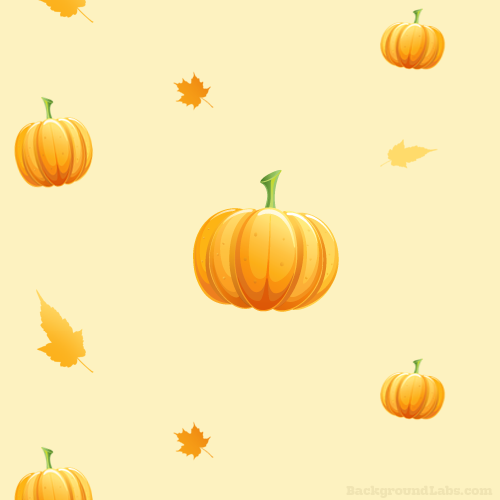 seamless pumpkin pattern