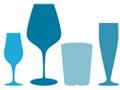 Alcohol Glasses Pattern