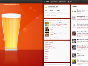 Beer Twitter Background