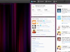 Blurry Stripes Twitter Background