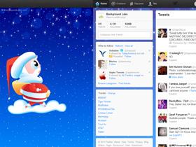 Christmas Twitter Background