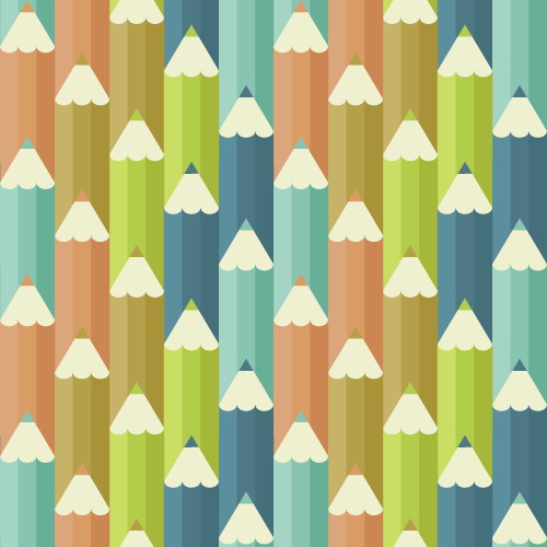 Colored Pencil Pattern