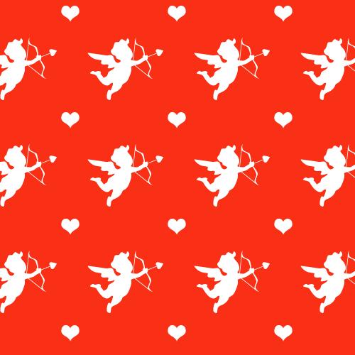 Cupid Seamless Pattern