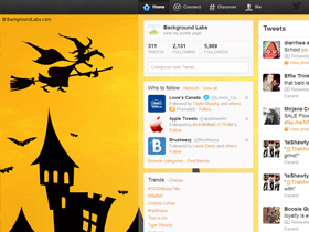 Halloween Twitter Background