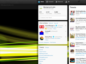 Light Streams Twitter Background