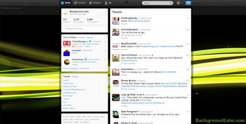 Light Streams Twitter Background