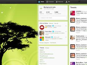 Magic Tree Twitter Background