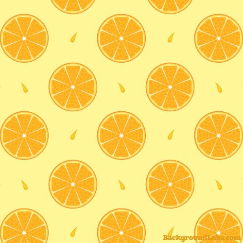 Orange Slices Pattern