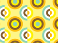 Retro Circles Pattern
