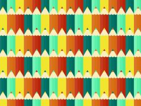Seamless Pencils Pattern