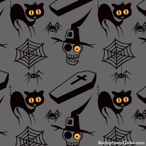 Spooky Halloween Pattern
