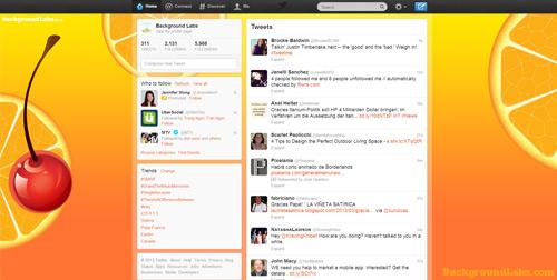 Tequila Sunrise Twitter Background