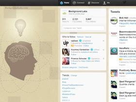Working Brain Twitter Background