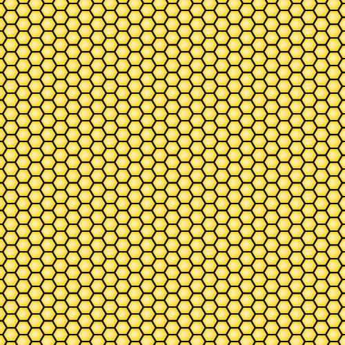 Seamless Honeycomb Pattern