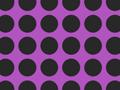 Black and Purple Polka Dot