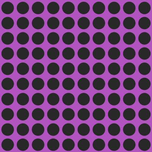 Black and Purple Polka Dot