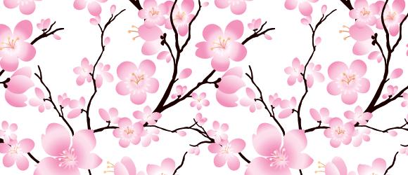 Seamless Cherry Blossom