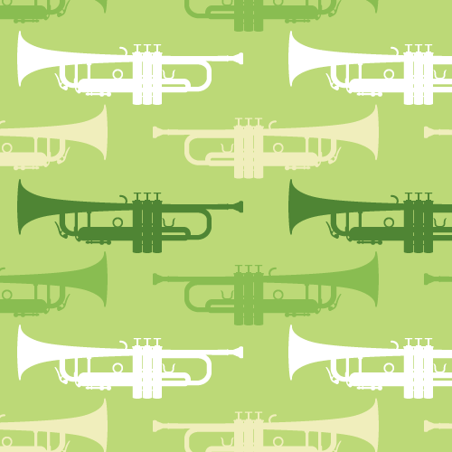 music-pattern-with-trumpet-green-1929