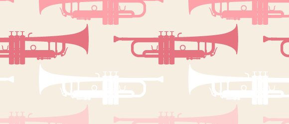 music-pattern-with-trumpet