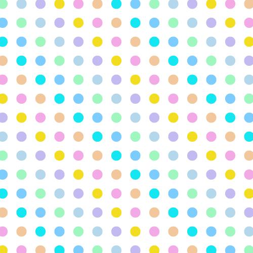 Pastel Polka Dot Background