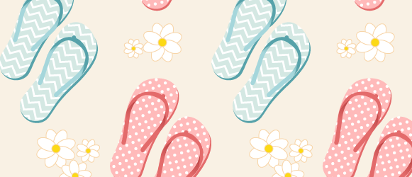 Pattern With Flip Flops
