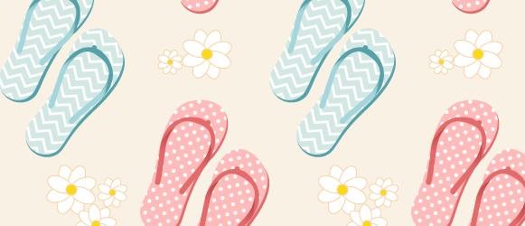 Pattern With Flip Flops