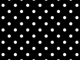 iPad Polka Dot Background