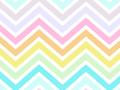 Pastel Chevron Stripes