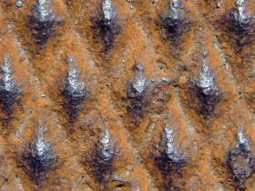 Rusted Diamond Metal