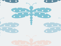 Seamless Dragonfly Pattern