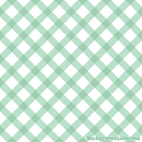 Mint Green Plaid Pattern