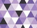 Purple Triangles Pattern