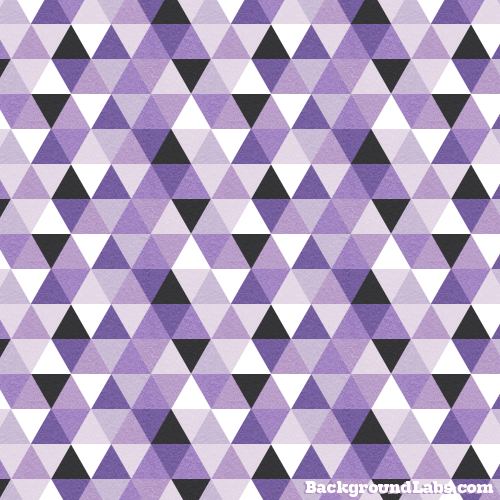Purple Triangles Pattern