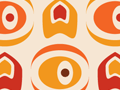 Retro Art Deco Seamless Pattern