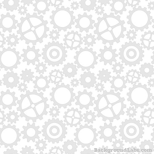 Seamless Cogwheels Pattern Background Labs